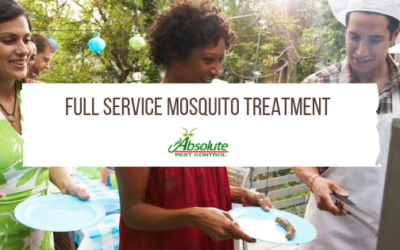 Full Service Mosquito Treatment